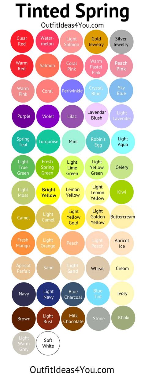 spring colors 75 best color analysis light spring tinted images on