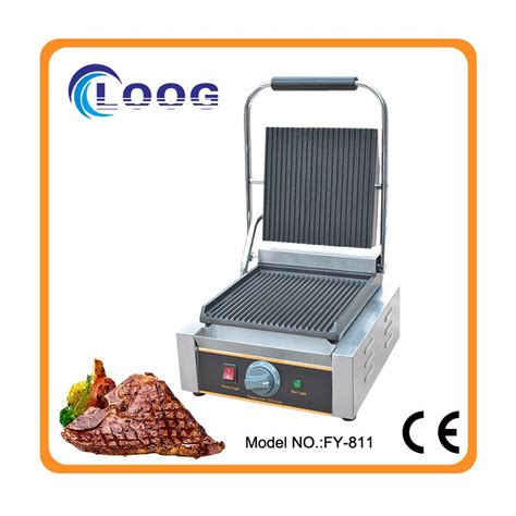 Fy 113 Electric Sandwich Machine sale commercial plate and griddle grill machine contact grill sandwich grill buy
