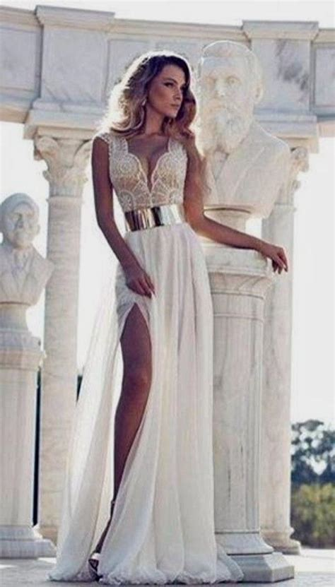 Dress Berta Pink And White Os prom dresses white and gold lace naf dresses