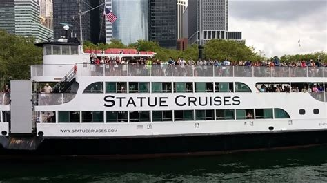 boat ride to nyc from nj ferry ride to the statue of liberty and ellis island with