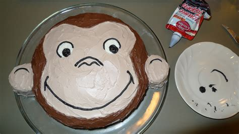 curious george monkey cake ideas and designs