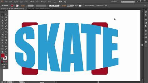 illustrator tutorial envelope distort envelope distort and warp tool illustrator tutorial youtube