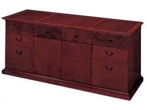 Spacious Computer Desk Del Mar Executive Office Credenza File Cabinet Dmo 20