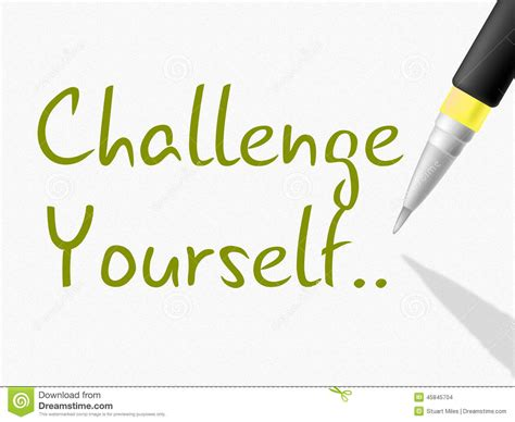 the meaning of challenges challenge yourself indicates persistence determined and