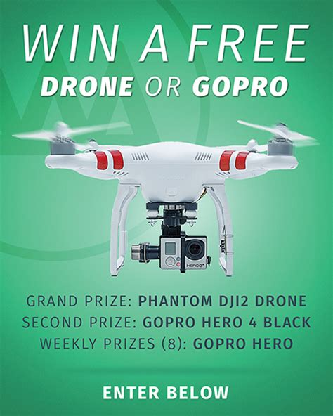 Gopro Giveaways - gopro and drone giveaway by gnarbox try something fun