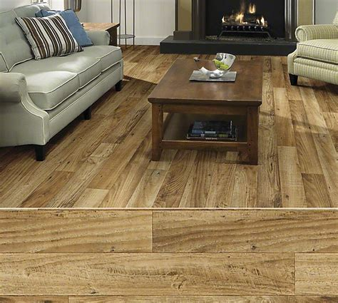 How To Clean Resilient Plank Flooring by Shaw Duratru Resilient Sheet Flooring In Style Knollwood
