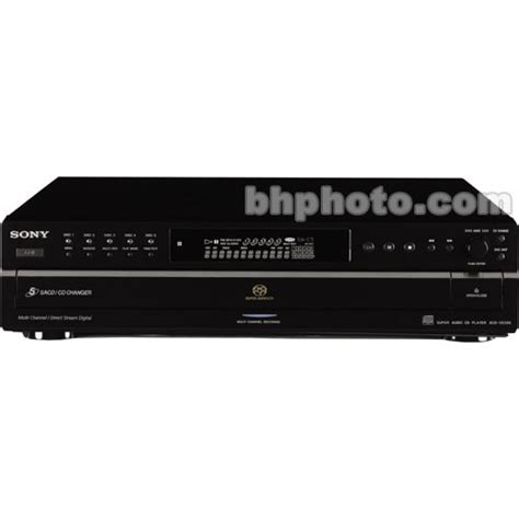 format cd players use sony scd ce595 5 disc dsd format sacd and cd player scdce595