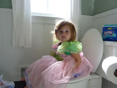 Girl On Toilet Potty Training | potty training tips for girls how to potty train a girl