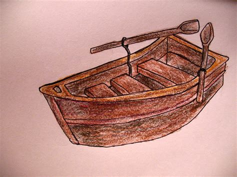 easy to draw rowboat how to draw a row boat ehow uk