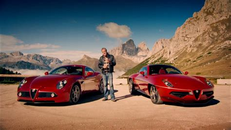 my disco volante top gear clarkson tests the alfa romeo