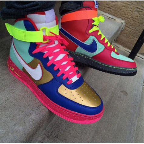 colorful air ones sneakers high top sneakers sneakers nike air air