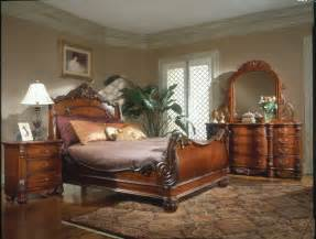 king bedroom sets image: king charles bedroom furniture set collection with sleigh bed