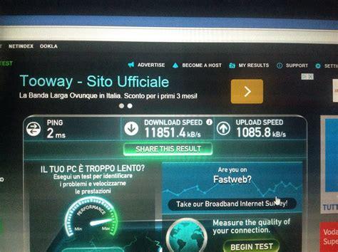 test porte emule adunanza configurazione fastweb 100 fibra assistenza aduforum