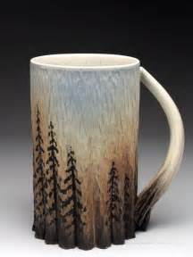 dow redcorn mug at mudfire gallery the tree design