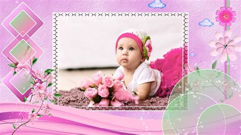 Baby Shower Slideshow Templates quot princess quot baby slideshow templates