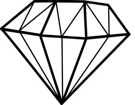home design free diamonds diamond drawing clipart best