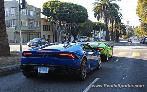Lamborghini Sf Lamborghini Huracan Spotted In San Francisco California