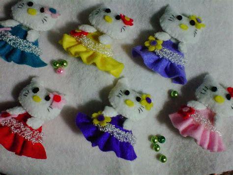 membuat kerajinan hello kitty cara membuat boneka hello kitty dari kain flanel