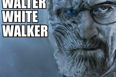 White Walkers Meme - gameofthrones walter white walker meme game of thrones memes pin