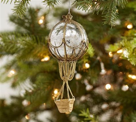 hot air balloon ornament pottery barn