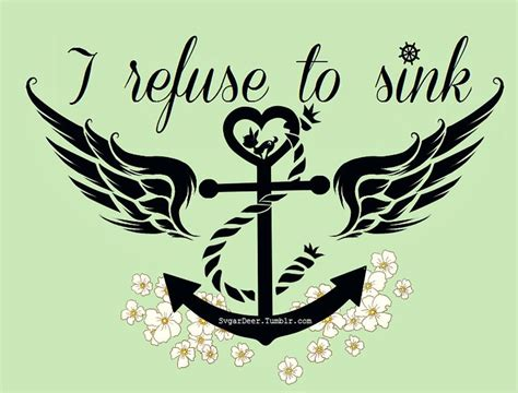 i refuse to sink i refuse to sink suche anchor