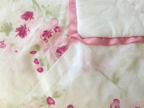 simply shabby chic cotton pink white cherry blossom