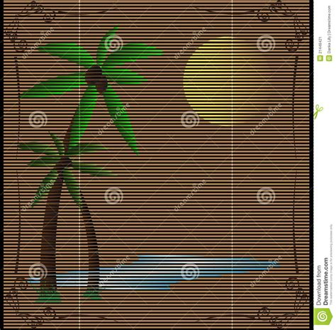 Straw Landscape Matting - straw mat summer landscape stock image image 21448421