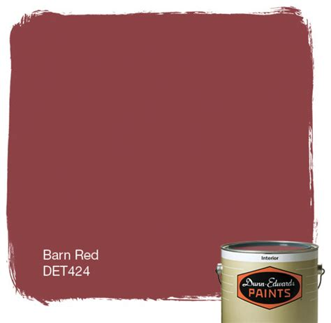 dunn edwards paints barn red det424