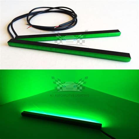 green led light strips batteries how to provide light for 12 v led