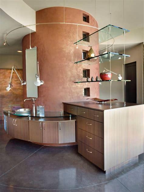 Unique Bathroom Shelves » Home Design 2017