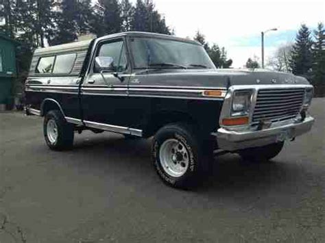1979 ford f150 4x4 short bed for sale find used 1979 ford f 150 ranger regular cab short bed 4x4