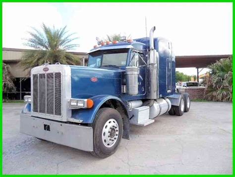 peterbilt 379 extended 2001 sleeper semi trucks