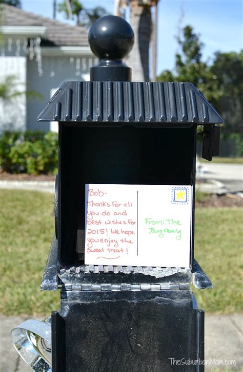 easy to mail christmas gifts easy idea for mailman gifts thesuburbanmom
