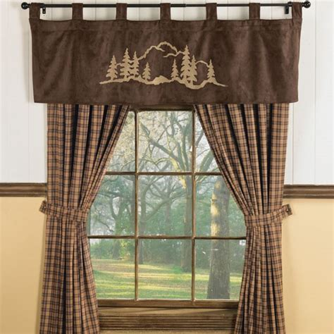 lodge curtains 12 best images about cabin on pinterest window