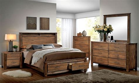 Rustic Oak Bedroom Furniture Nellwyn Rustic Oak Bedroom Furniture