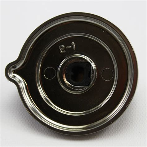 genuine oem wb03t10266 ge stove knob assembly stainless
