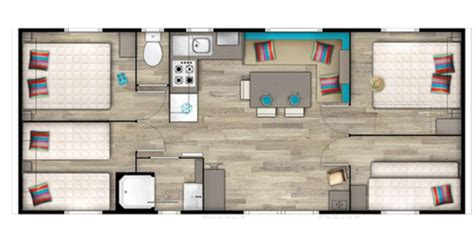 mobile home 4 chambres location de mobil homes 8 places