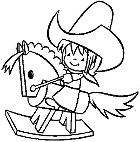 Printable Free Rodeo Cowboy Coloring Pages To Drawing And Rodeo Coloring Pages