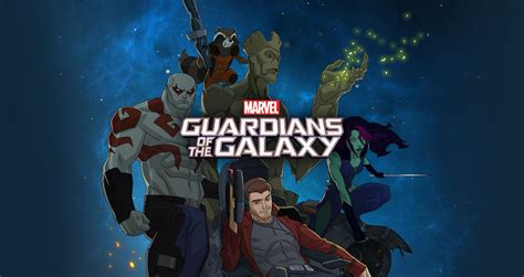 marvels guardians of the guardians of the galaxy animated marvel disney xd series unleashes a first official teaser promo
