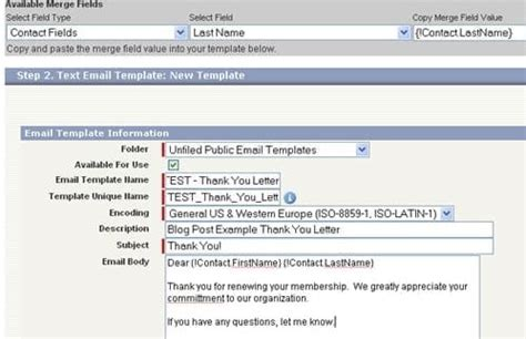 Use Salesforce Email Templates In Outlook Salesforce Template