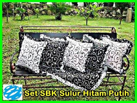 Sofaset Sarung Bantal Kursi Taplak Meja Homeset Sbk Maze Hitam home set taplak ask home design