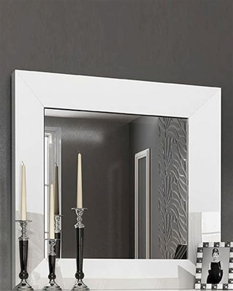 Single Dresser With Mirror by White Single Dresser Mirror In Modern Style 33181ca