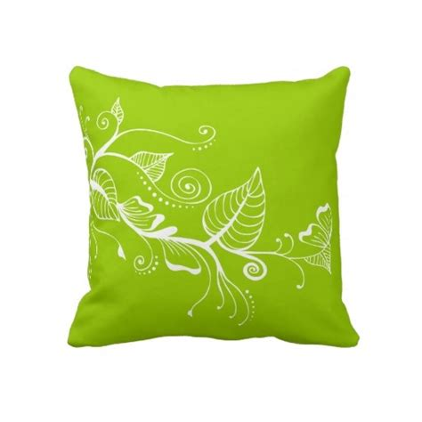bright green pillows 37 best lime green throw pillows images on