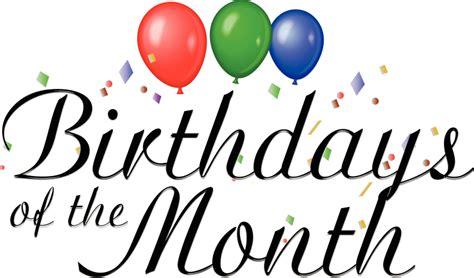 idt birthday of month