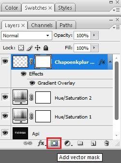 tutorial efek vektor photoshop cara membuat efek tulisan terbakar api di photoshop