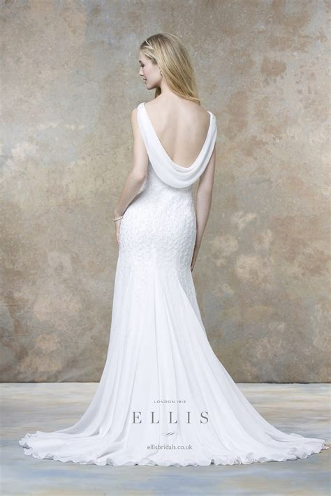 Trend Cowl Necks Get Their Back by 23 Cowl Back Wedding Dresses A Hip Trend For Glamorous Style