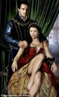 natalie dormer as boleyn boleyn and king henry viii s secret nest on the