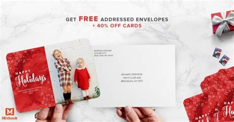 Can You Get Money Off A Gift Card - mixbook 40 off cards free addressed envelopes kids activities saving money