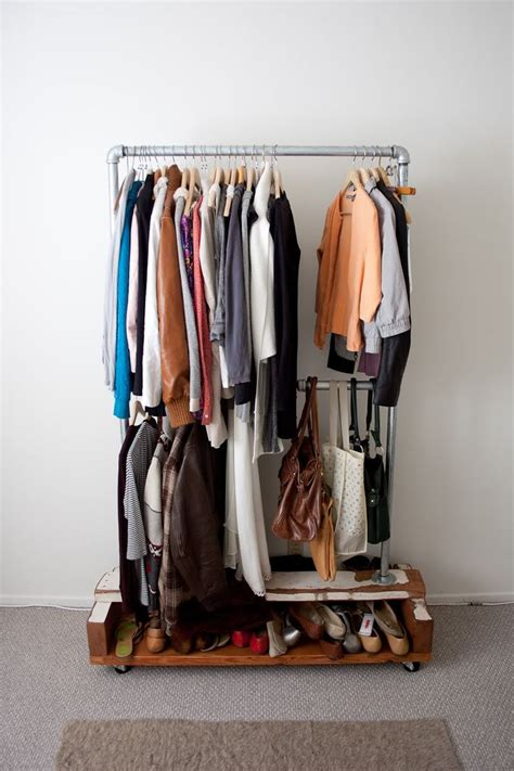 Cool Clothing Racks by Look Clothes Rack Apartment Ideas
