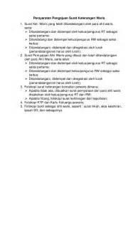Contoh Surat Pernyataan Hibah Waris Bertemuco